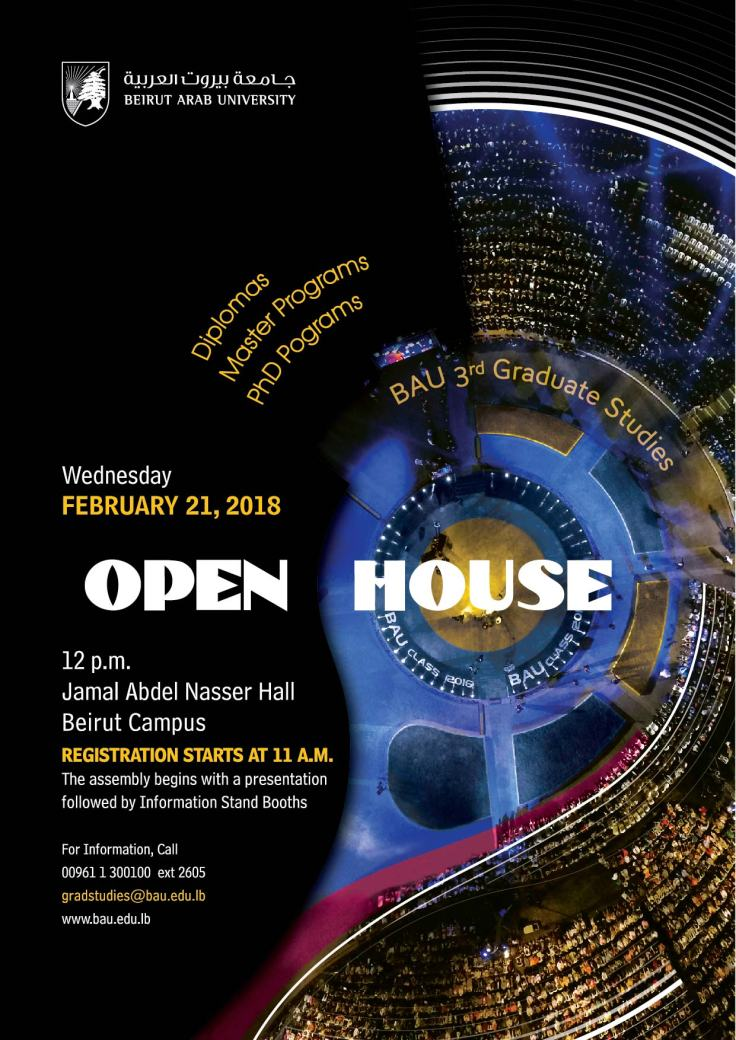 BAU 3rd Open House